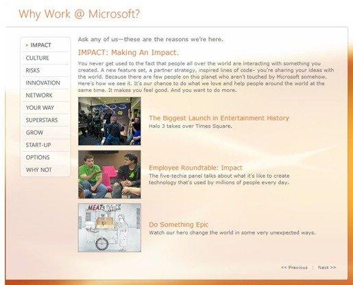 Why work @ Microsoft