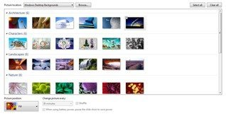 Windows 7 7057 Desktop Backgrounds