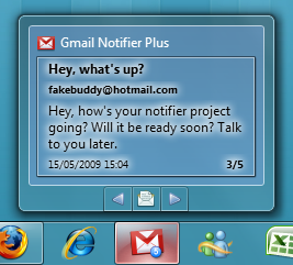 Gmail Notifier Plus 1