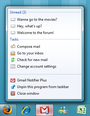 Gmail Notifier Plus 3