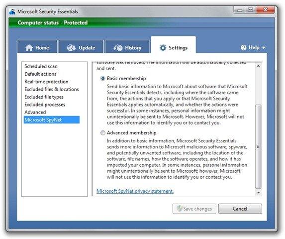 Microsoft Security Essentials (2)