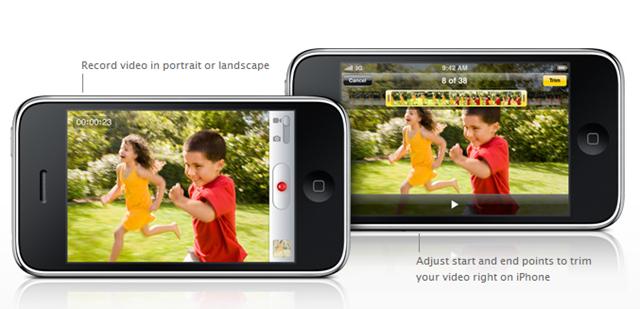 iPhone 3G S Video Recording