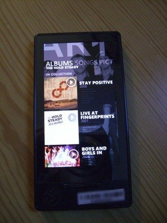 Zune HD Marketplace UI