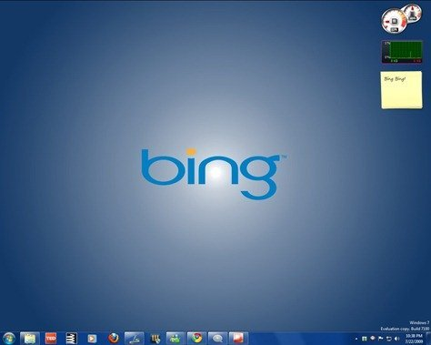 Bing Theme for Windows 7 by ithinkdiff.com
