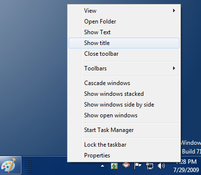 Make Windows 7 Taskbar icons centralized like OS X Dock