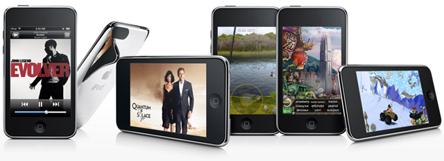 Apple iPod Touch with camera video recording and editing