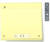 Sticky Notes Gadget in Windows 7