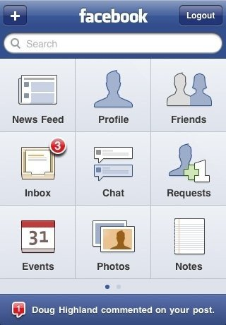 A tour of the new Facebook for iPhone 3.0 App