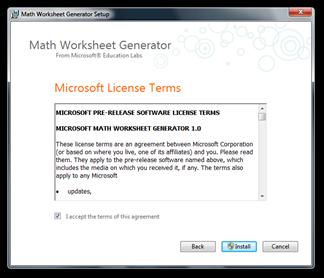 Math Worksheet Generator Setup (2)