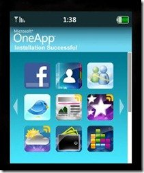 Microsoft OneApp Silverlight Interactive Demo