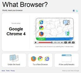 Google What Browser