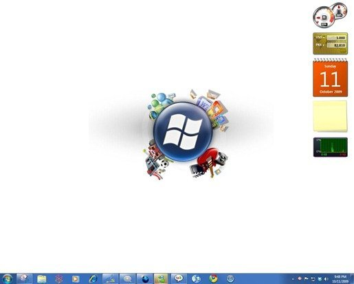 Start Windows 7 Screenshot