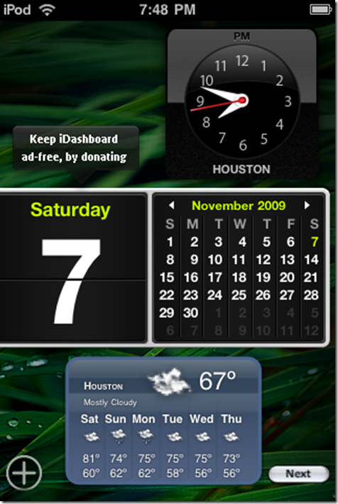 iDashboard multipage