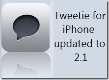 Tweetie 2 for iPhone/iPod Touch updated to 2.1