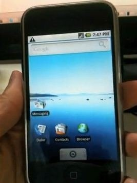 AndroidoniPhone2G