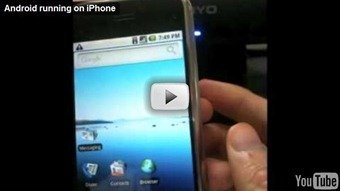 Android running on the iPhone