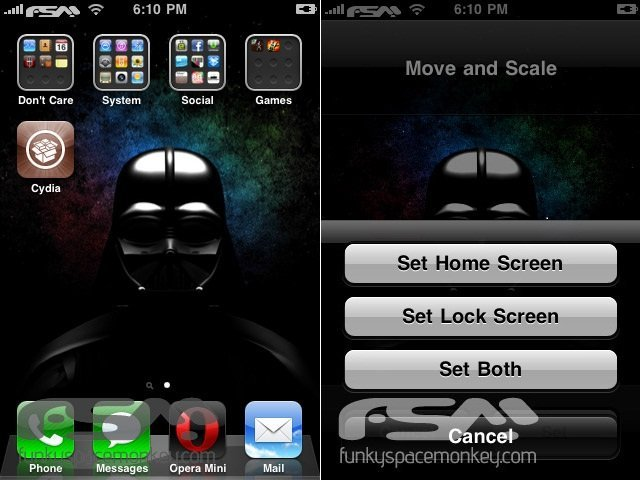 enable backgrounds iPhone OS 4.0 3G 1