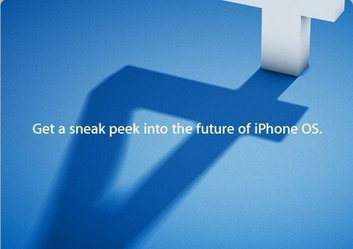 iPhone OS 4 event