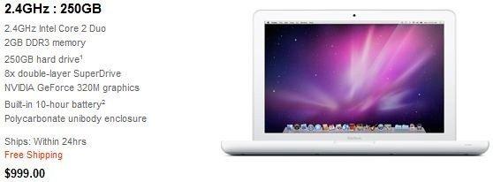 New $999 Macbook 3