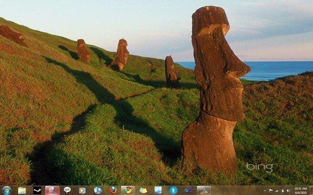 Screenshot of Bing's Best 3 Themepack for Windows 7 by Microsoft