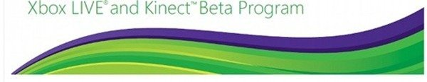 Microsoft Xbox live and Kinect beta program