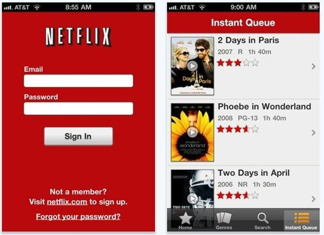 Netflix for iPhone and iPod Touch