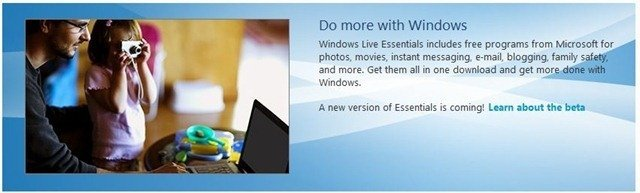 Windows Live Essentials 2011 Beta Refresh