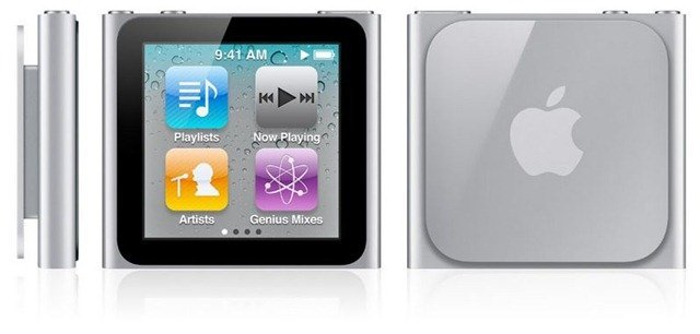 iPod Nano Video Playback