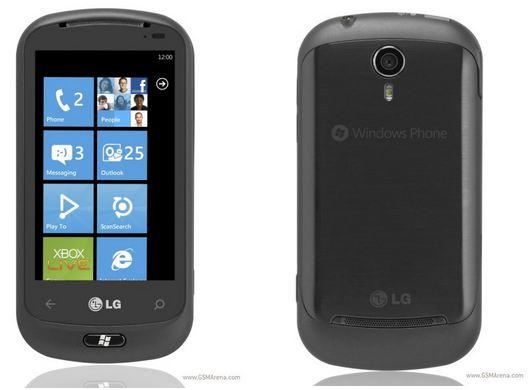 LG Quantum Optimus 7Q Windows Phone 71