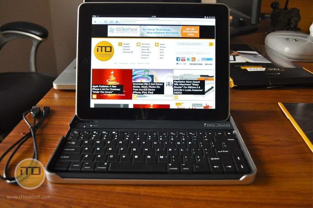 ZAGGMate Keyboard Case For iPad