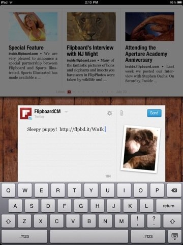 Flipboard 1.1 for iPad 2