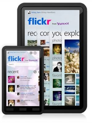 Flickr App for Windows 7 tablets and Windows Phone 7