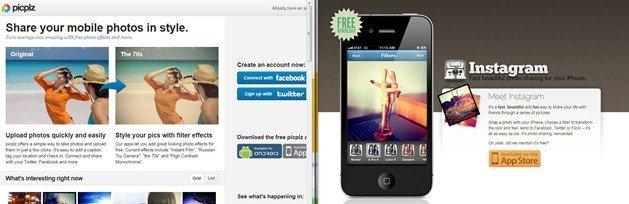 No Instagram PicPlz for Windows Phone 7