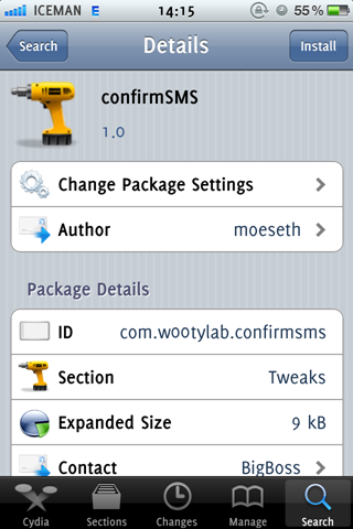 ConfirmSMS Cydia iPhone Jailbreak Tweak (1)