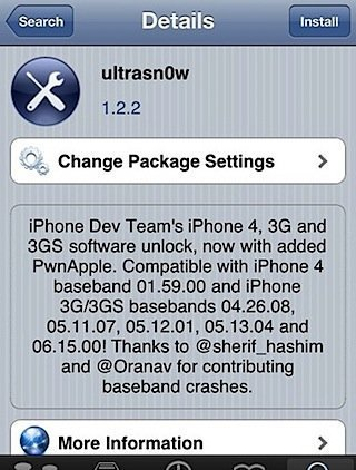 Unlock 4.3.2 On iPhone 4 / 3GS With New Ultrasn0w 1.2.2 [Guide]