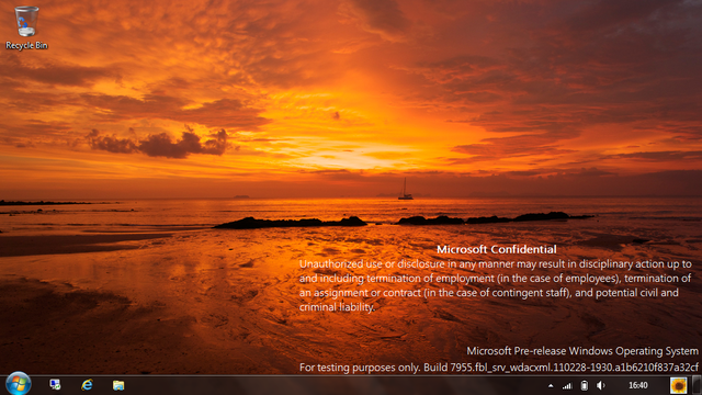 New Windows 8 Build 7955 leaked!