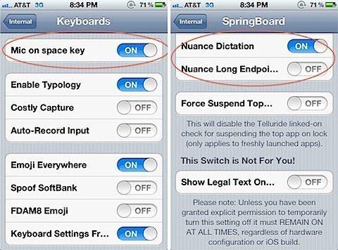 Nuance Voice Technology Built into iOS5!