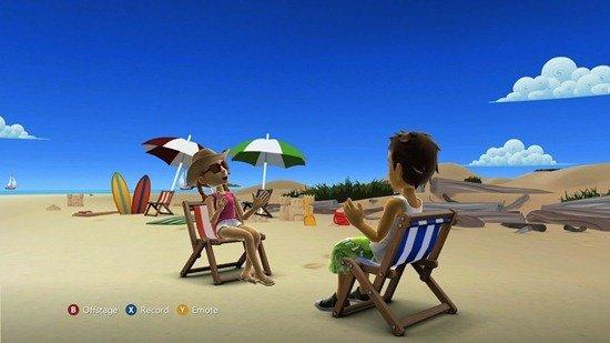 Avatar Kinect Scene At The Beach