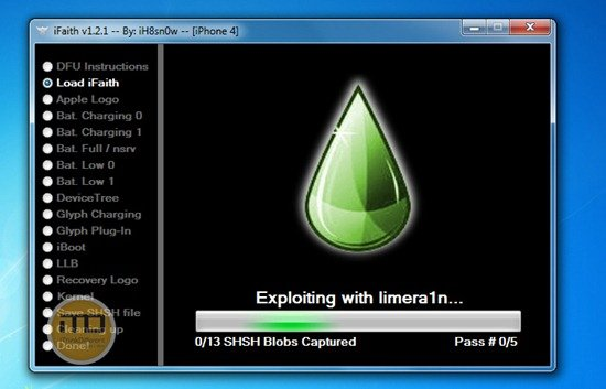 Exploiting With Limera1n
