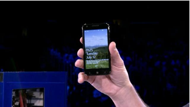 Samsung Windows Phone Mango Device