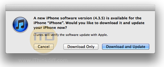 iOS 4.3.5 Download