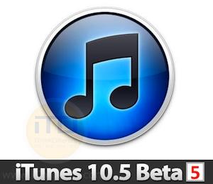 Download iTunes10 5 Beta5 iTD2