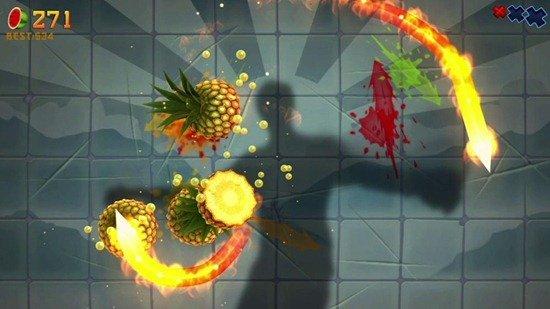 Fruit Ninja For Kinect On Xbox 360
