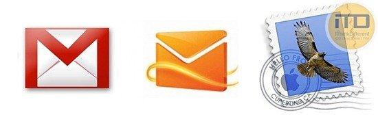 Gmail vs Hotmail vs Apple Mail