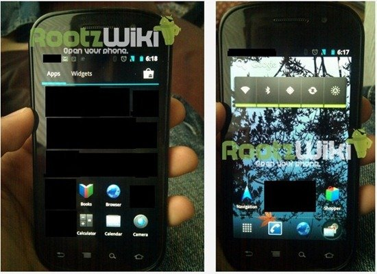 Google Android - Ice Cream Sandwich Leaks2