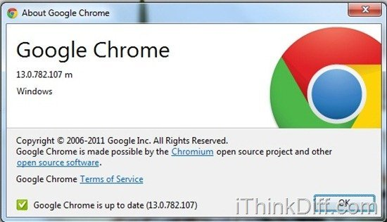 Google Chrome Updated