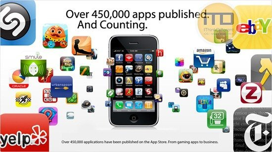 Over 425,000 Applications Published On The App Store