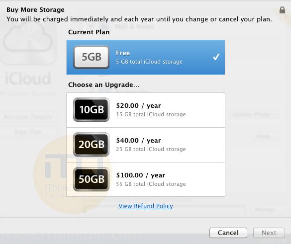 iCloud Lion 5iTD