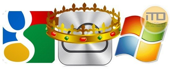 iCloud Winner vs Google Services vs Windows Live Serivces