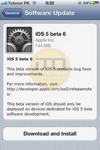 Download and Install iOS 5 Beta 6 On iPhone, iPad and iPod Touch